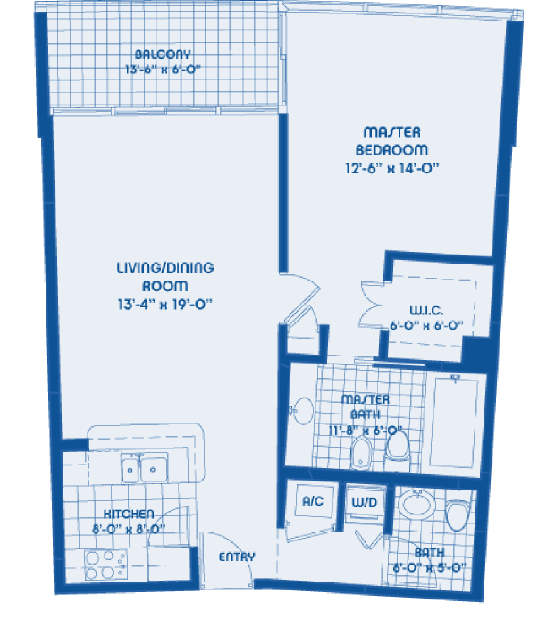 Marina Blue Floor Plans: Blintser Group