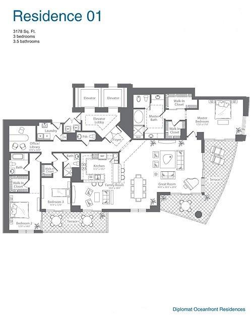 The Diplomat Residences Blintser Group